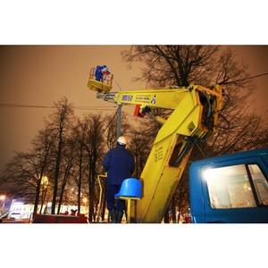 Ярэнерго ведет ежедневный мониторинг качества работы уличного освещения