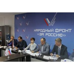 ОНФ в Зауралье подвел промежуточные итоги реализации приоритетных проектов Движения в регионе