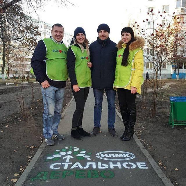 Сотрудник Стойленского ГОКа благоустроил городской сквер
