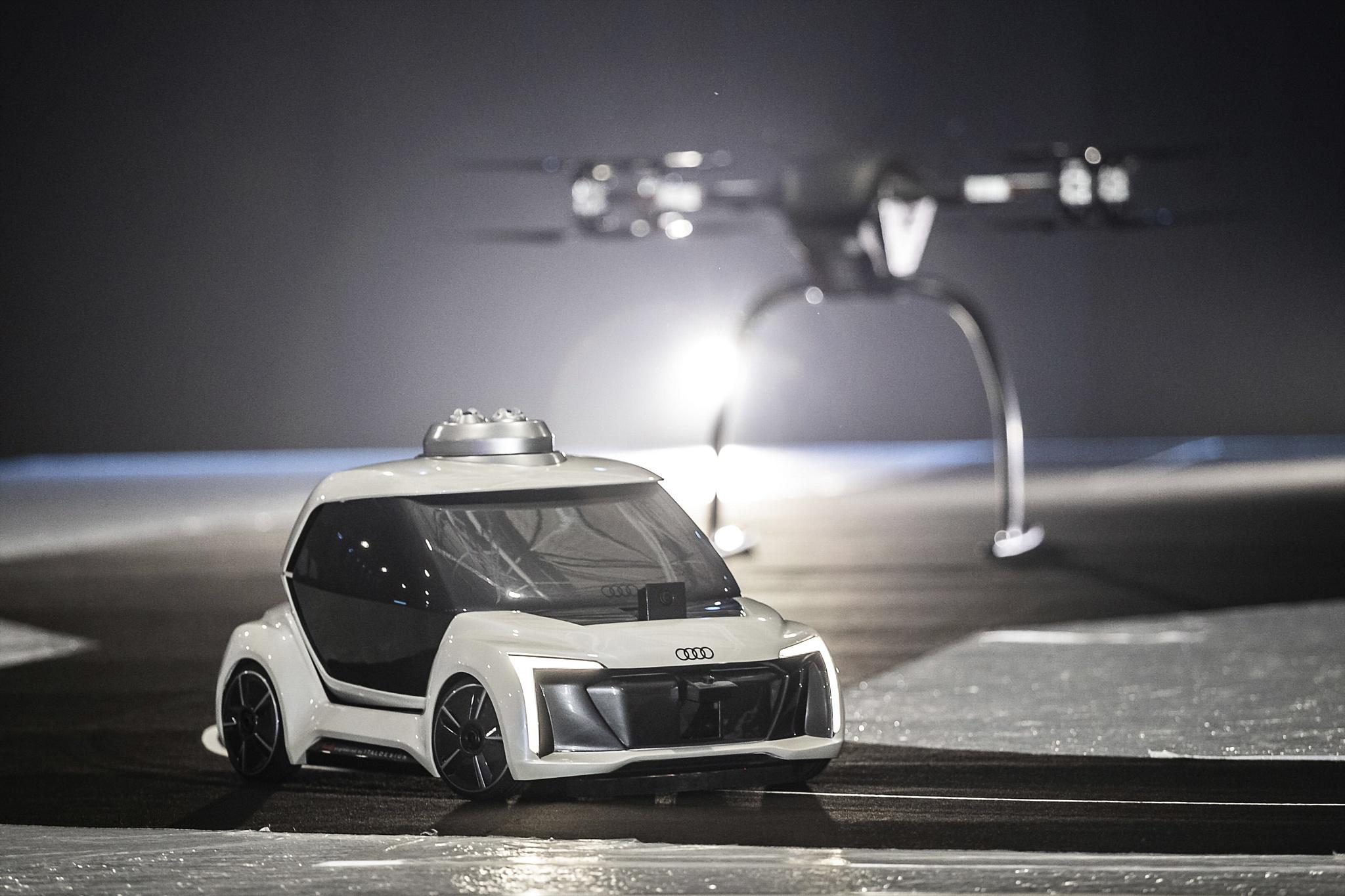 Audi, Airbus и Italdesign тестируют концепт летающего такси