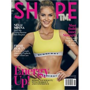 Нелли Минина украсила обложку журнала Shape Romania