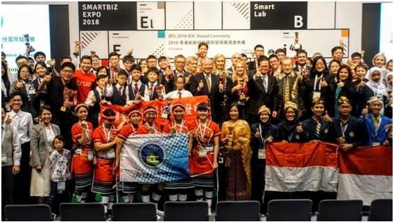 Участники Международной выставки изобретений и дизайна «IIDC 2018».