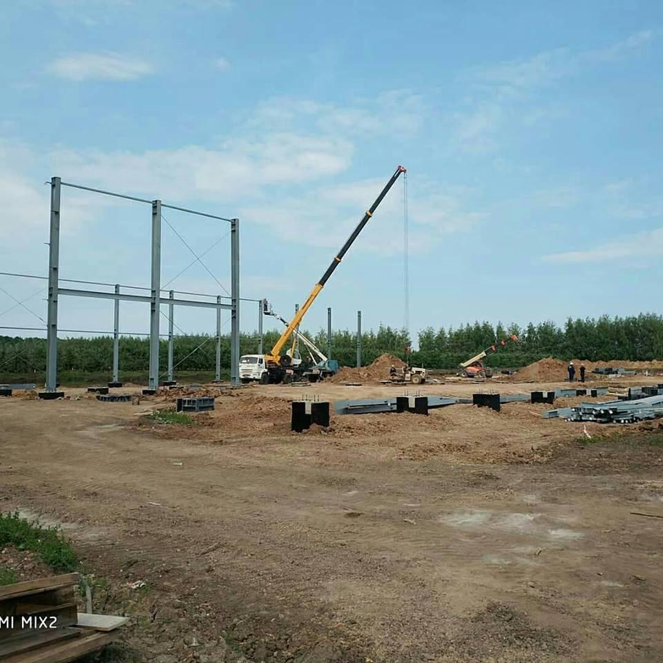 Фруктохранилище для агропромышленной компании в Воронежской области