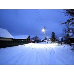 Ивэнерго обеспечило уличное освещение 28 населенных пунктов