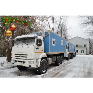 Спецтехника МПЗ спешит из Мытищ в Беларусь