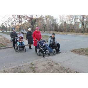 Волгоградские активисты ОНФ выявили недостатки доступности маршрутов города Волжского для инвалидов