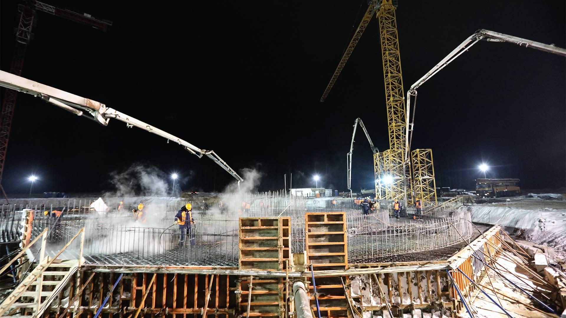 В Подмосковье началось бетонирование фундамента главного Храма Вооруженных Сил России