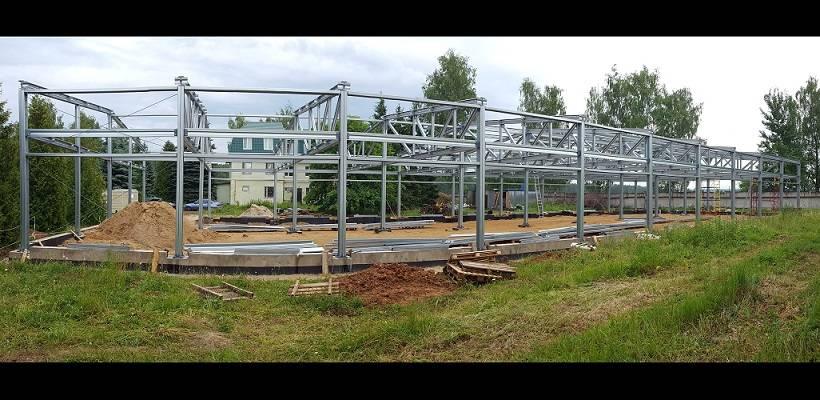 Лабораторный корпус из ЛСТК для биотехнологической компании в Подмосковье