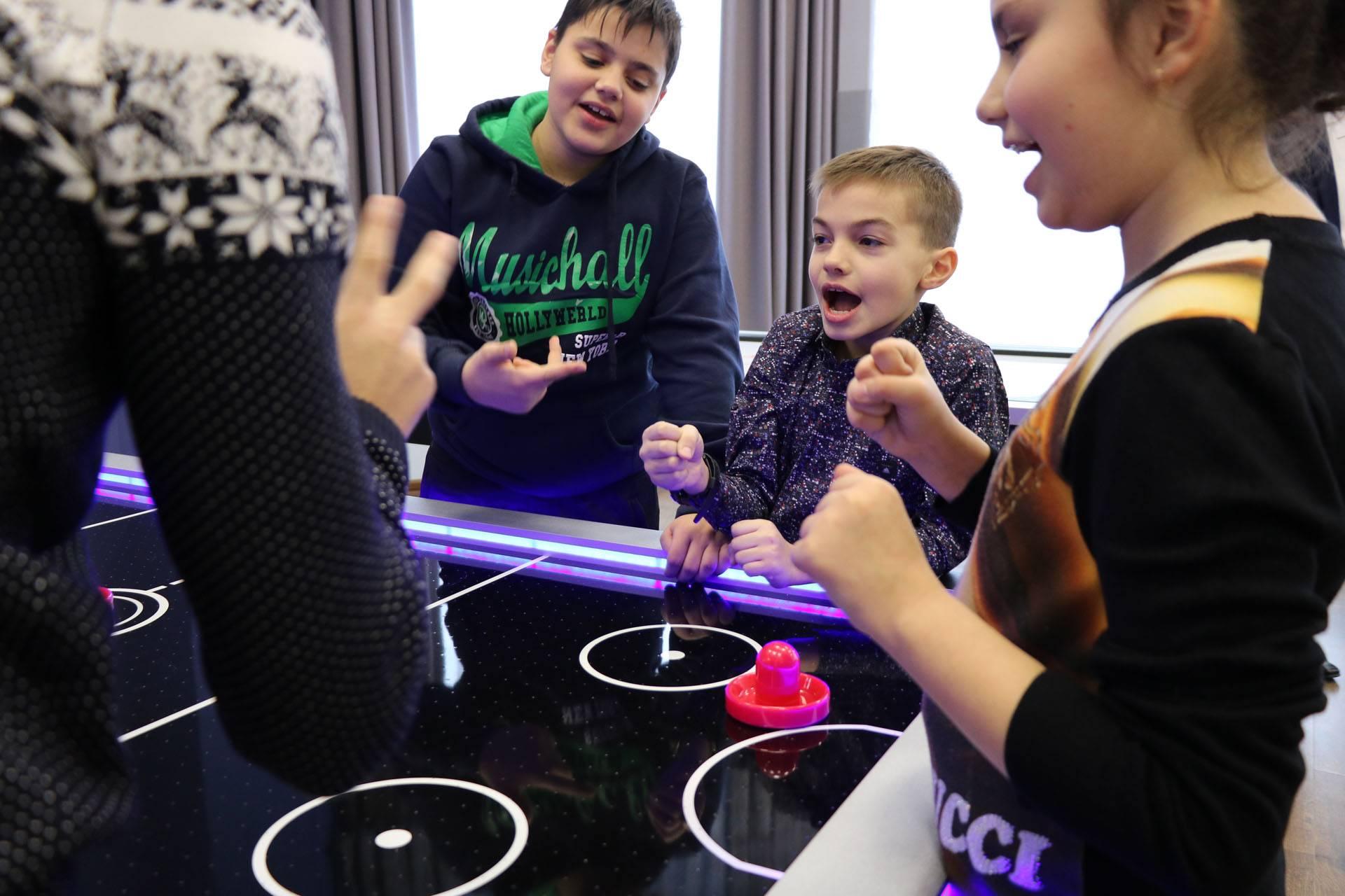 В санатории «Виктория» состоялось открытие детского игрового центра