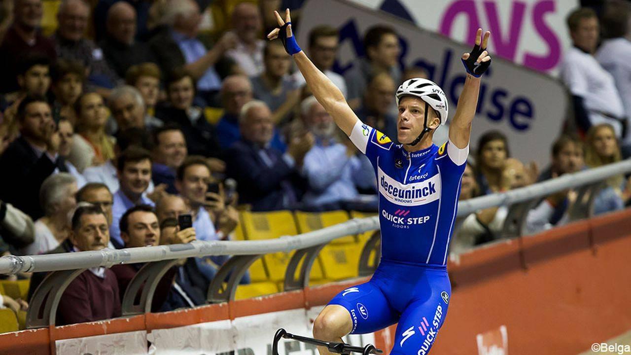 Ильо Кейссе и Элиа Вивиани стали победителями гонки «Шесть дней Гента»