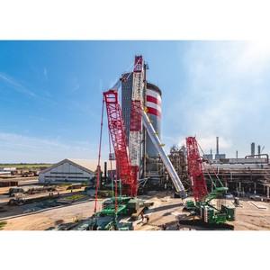 Второй агрегат карбамида на ТОАЗе выведен на проектную мощность