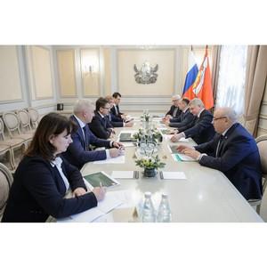 Встреча с руководством компании «Балтика»