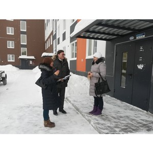 Активисты ОНФ проверили качество домов для переселенцев из аварийного жилья в Карелии