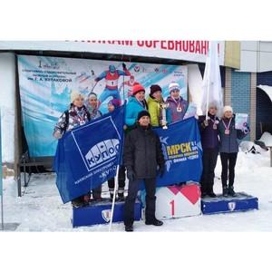Лыжники Удмуртэнерго стали первыми в спартакиаде трудовых коллективов Ижевска