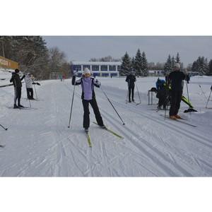 В ОАО «Ульяновскнефть» прошли соревнования по лыжным гонкам