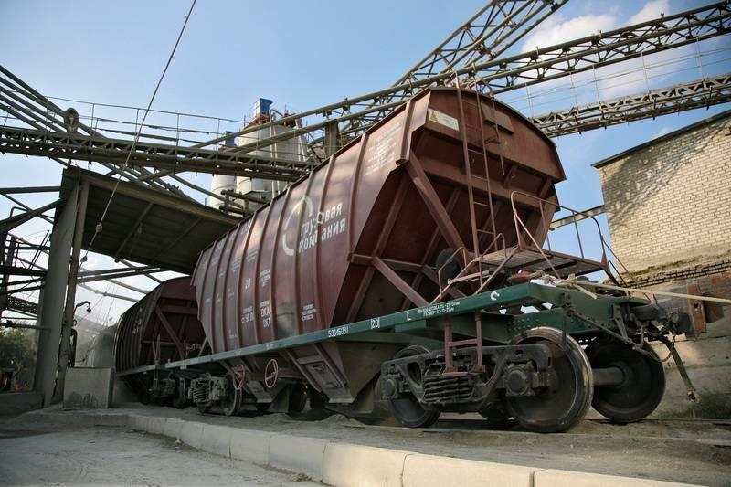 ПГК в 2018 году увеличила погрузку цемента в южных регионах на 10%