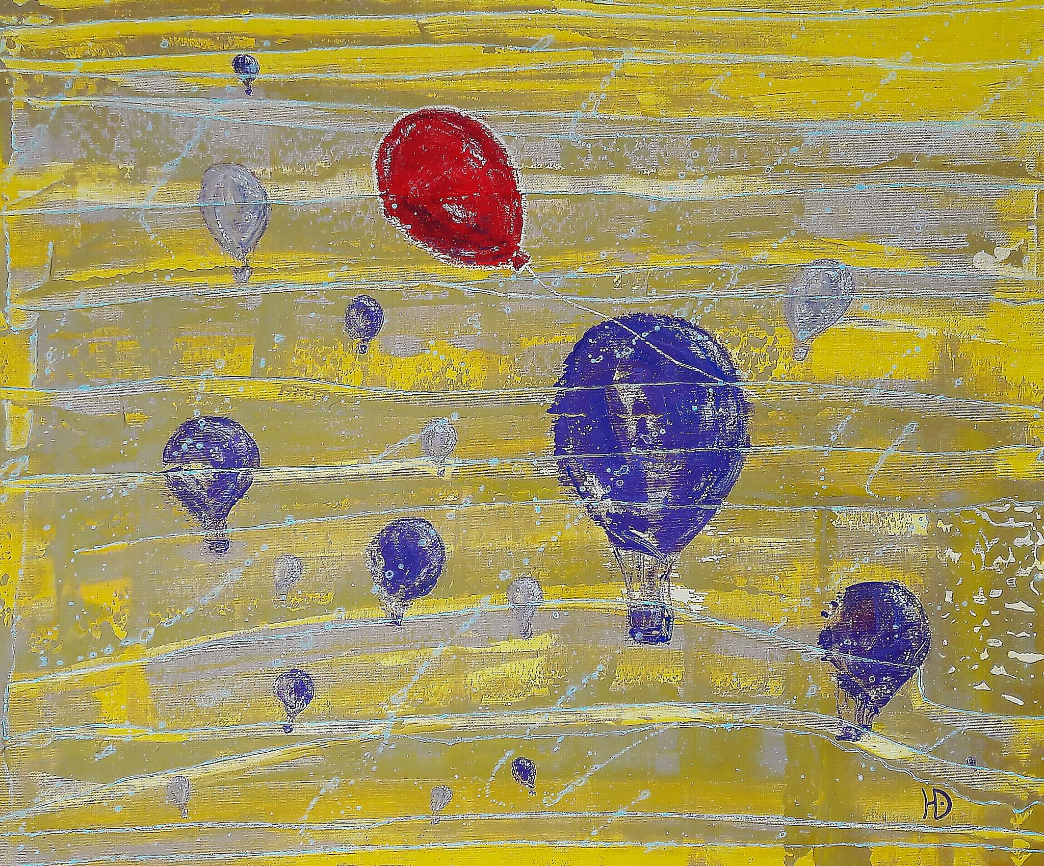 Художник Юлия Ерохина - яркий представитель экспрессионизма в современной живописи