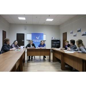 ОНФ в Коми определил основные направления работы тематических площадок «Образование» и «Культура»