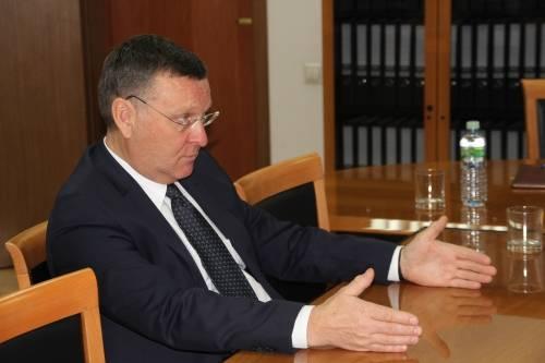 Рабочая встреча Михаила Вышегородцева с уполномоченным по защите прав предпринимателей в Республике Крым