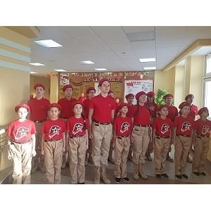Ученики школы имени Сирина приняли участие в челлендже «Имя Героя – школе»