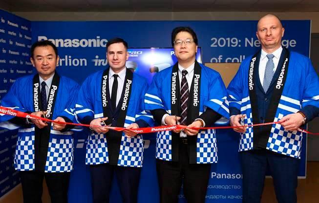 На фото (слева направо): Судзуки Дзюнити, Денис Горбунов, Одзаки Сехэи, Евгений Ачкасов