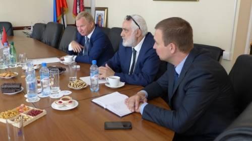 Встреча с главным торговым советником Посольства Турецкой Республики в Российской Федерации господином Феридун Башер
