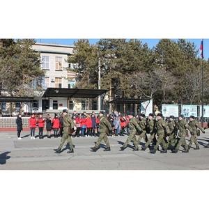 «Молодежка ОНФ» в Амурской области присоединилась к всероссийской акции «В армию на денек»