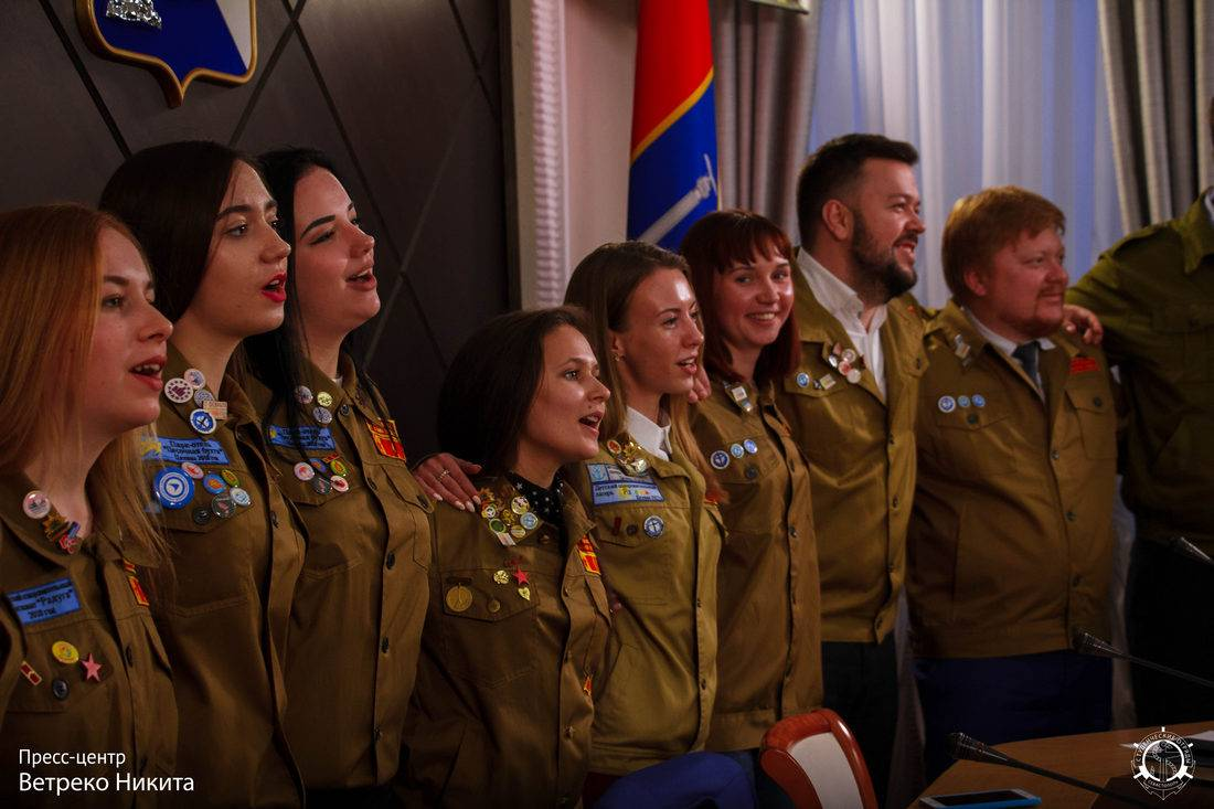 Движению Российских студенческих отрядов исполнилось 60 лет