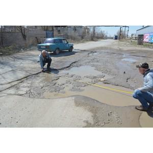 В Волгоградской области отремонтируют более 20 дорог, отмеченных на карте дорожного проекта ОНФ