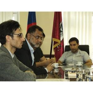 17 мая 2018 года МОО МАП посетила делегация иранских бизнесменов