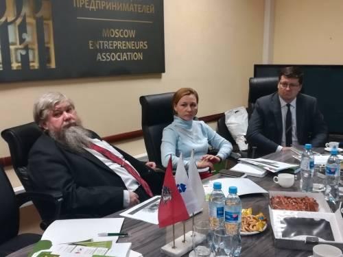 Заседание комитета по банковской деятельности МОО МАП