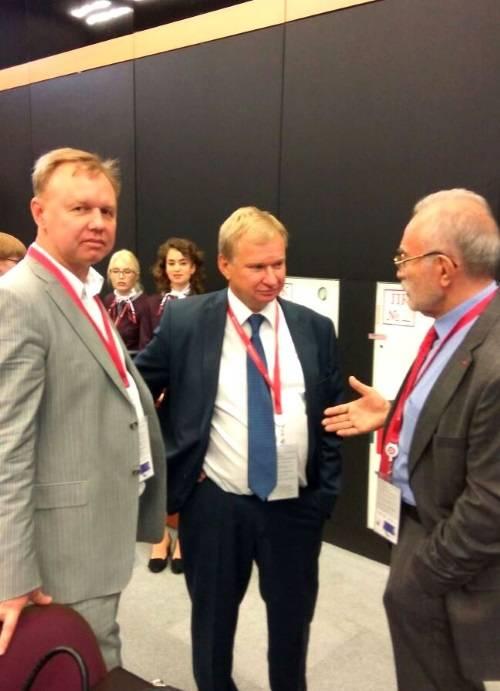 Делегация МОО МАП приняла участие в Российском форуме малого и среднего предпринимательства в Санкт-Петербурге