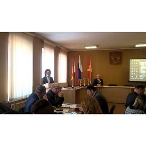 Важные вопросы обсудили представители Управления Росреестра в Красноармейском районе
