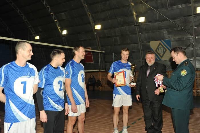 В Смоленской таможне прошло открытое первенство по волейболу