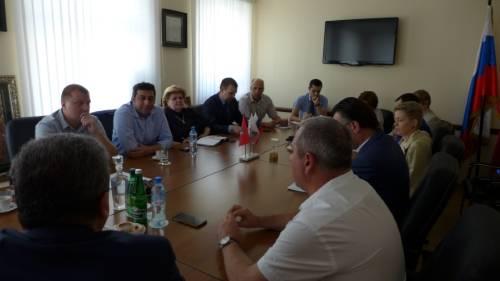 Деловая встреча по презентации возможностей Кувейта