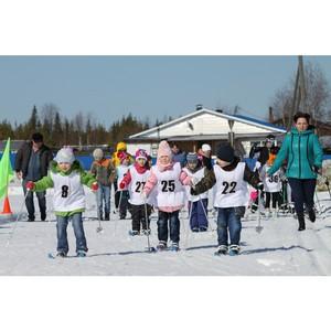 Владимир Семенов приветствовал участников открытой Всероссийской массовой лыжной гонки Лыжня России»