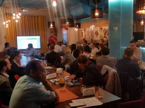В нетворкинг-вечере «Узкий круг» приняли участие члены МОО МАП