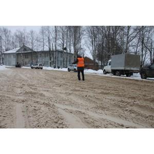 Активисты ОНФ в Коми выявили проблемные участки дорог в Сыктывкаре