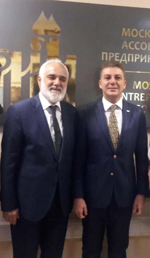 18 сентября в Московской ассоциации предпринимателей состоялась встреча с Союзом экспортеров Турции