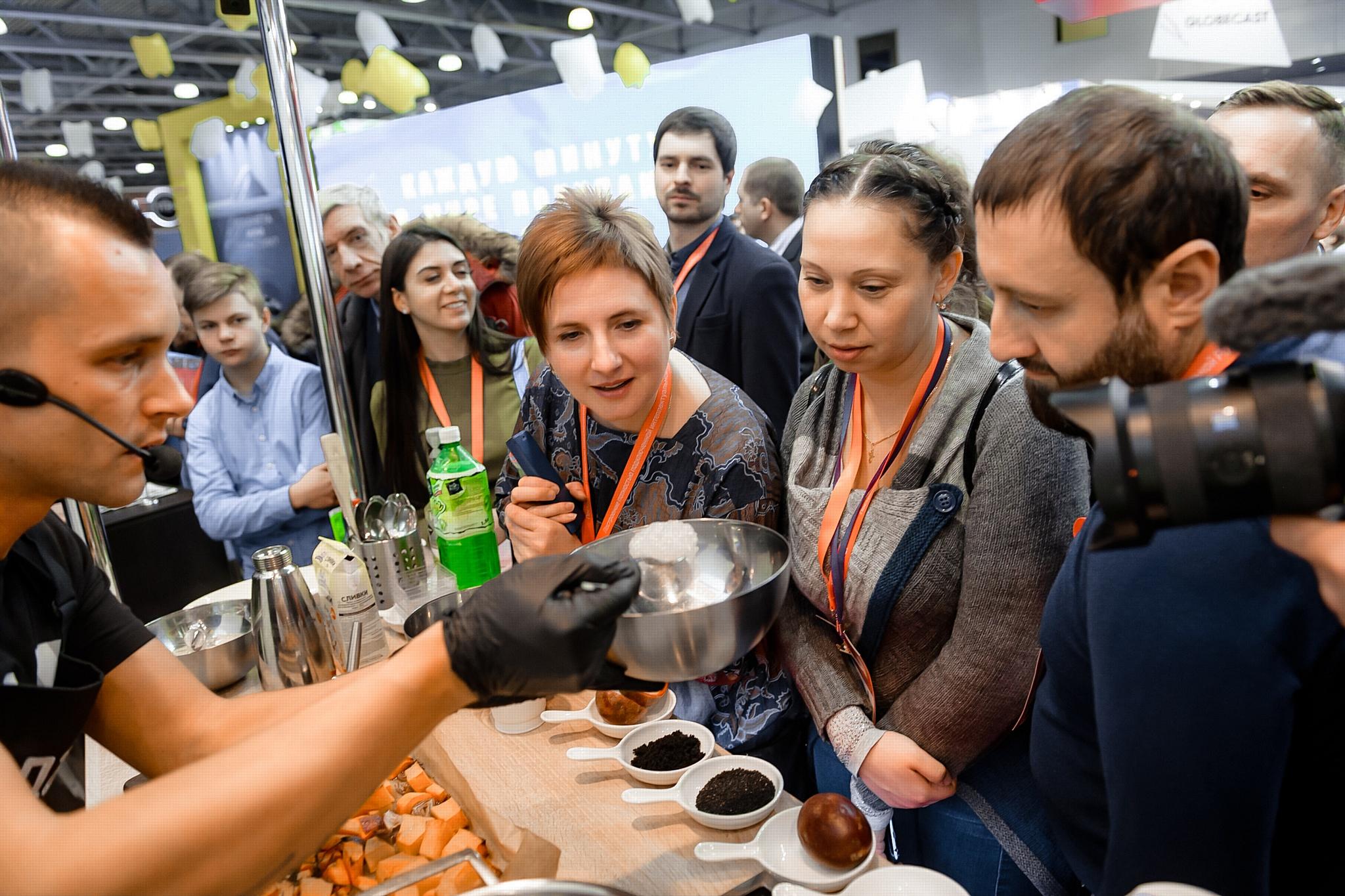 Кулинарный заряд от телеканала «Еда» на выставке CSTB-2019