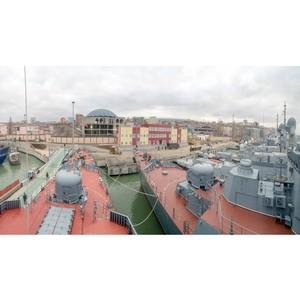 Тимур Иванов осмотрел новые объекты Каспийской флотилии