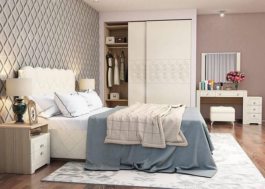 Недорогие спальни моделей 2018 - 2019 г. от Unimebel