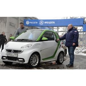 Руководство Тамбовэнерго встретилось с владельцами электромобилей
