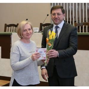 На Стойленском ГОКе поздравили работниц с Международным женским днем