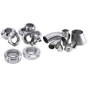 Upgraded fittings meet your hygienic demands and ensure superior corrosion-resistance