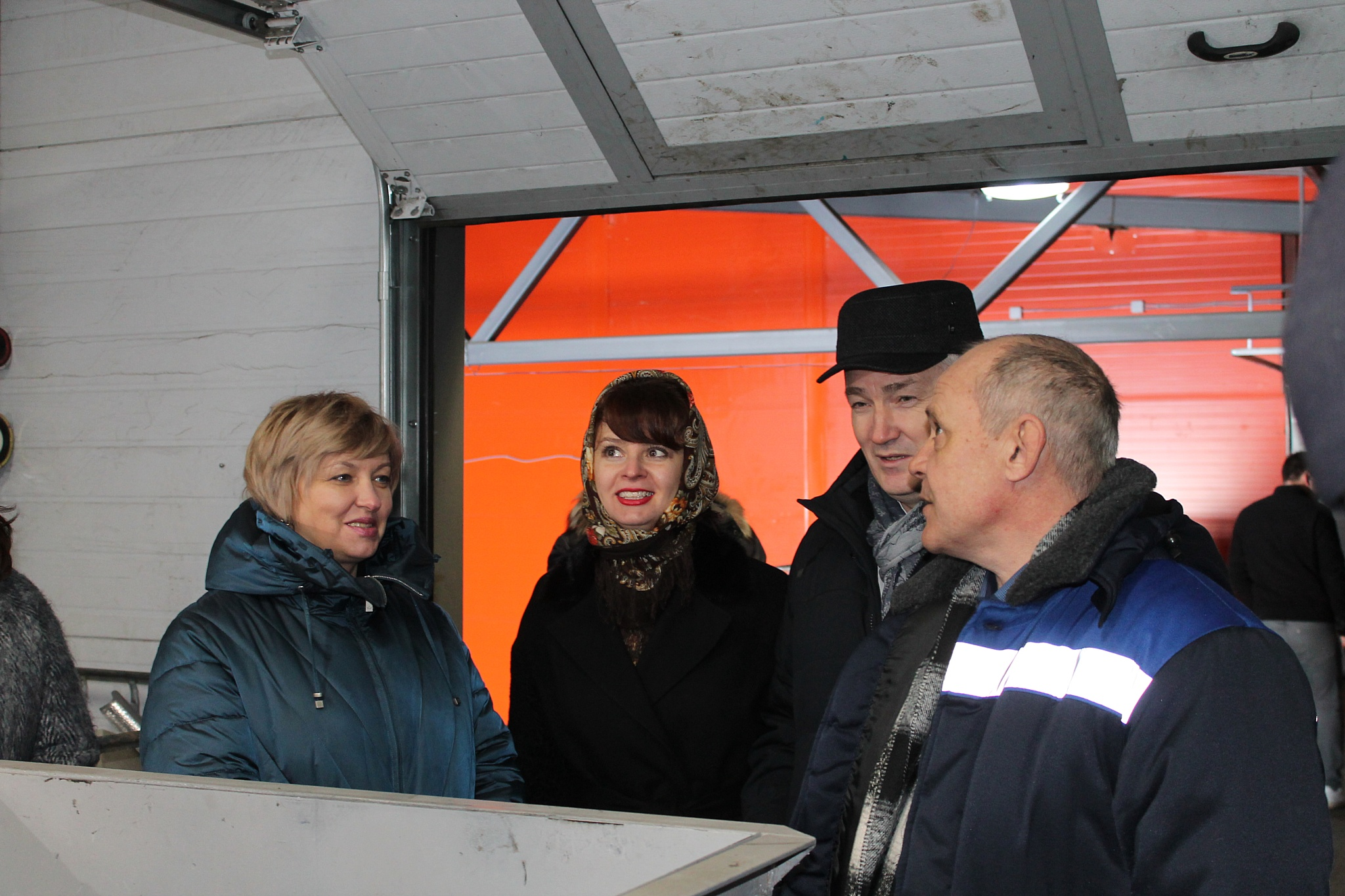 Елена Цунаева ознакомилась с ходом реализации «мусорной реформы» в Мордовии