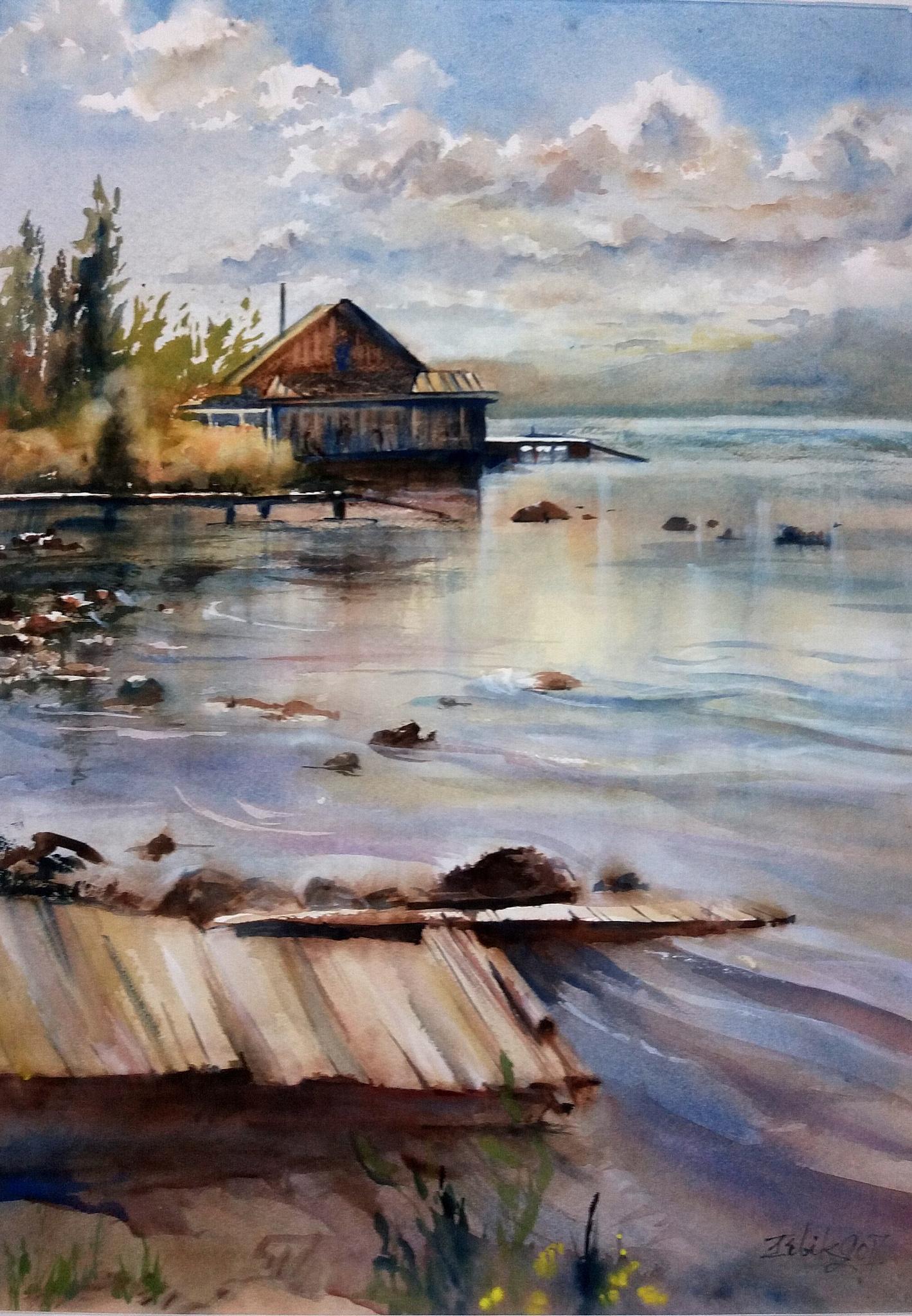 """Путешествия в акварелях"" Ирины Бибик-Чколян"