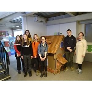 «Шико Дизайн» провела экскурсию для будущих полиграфистов