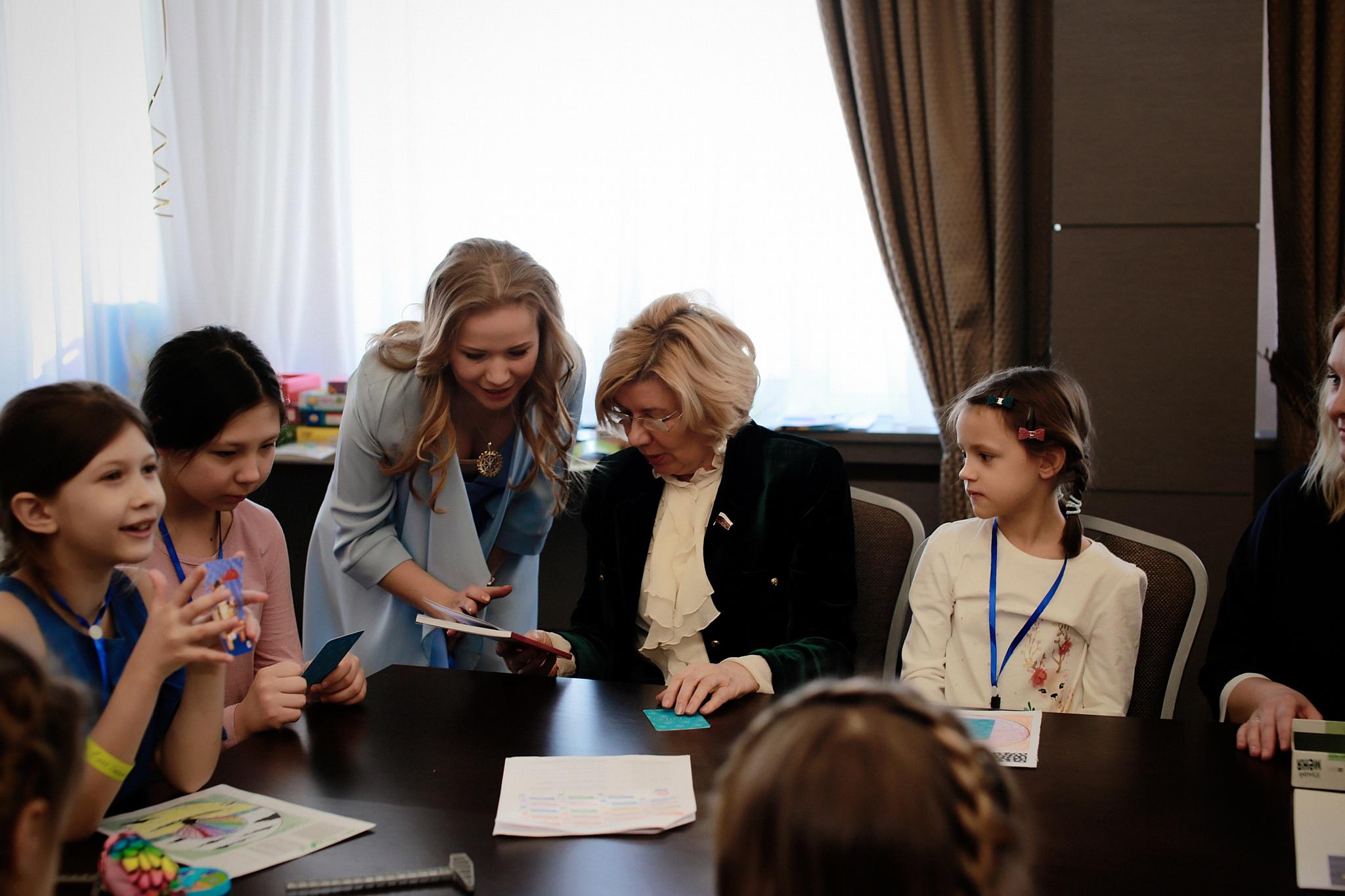 Оксана Гордина, Депутат ГД Наталья Пилюс с детьми