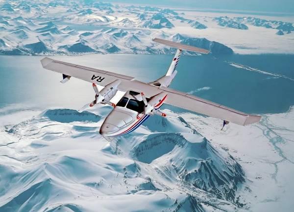 Российские самолеты-амфибии ускорят развитие туризма в Арктике.
